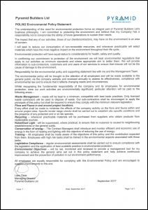 POL002 Environmental Policy Statement