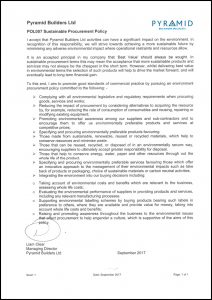 POL007 Sustainable Procurement Policy