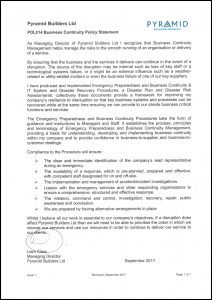 POL014 Business-Continuity-Policy-Statement